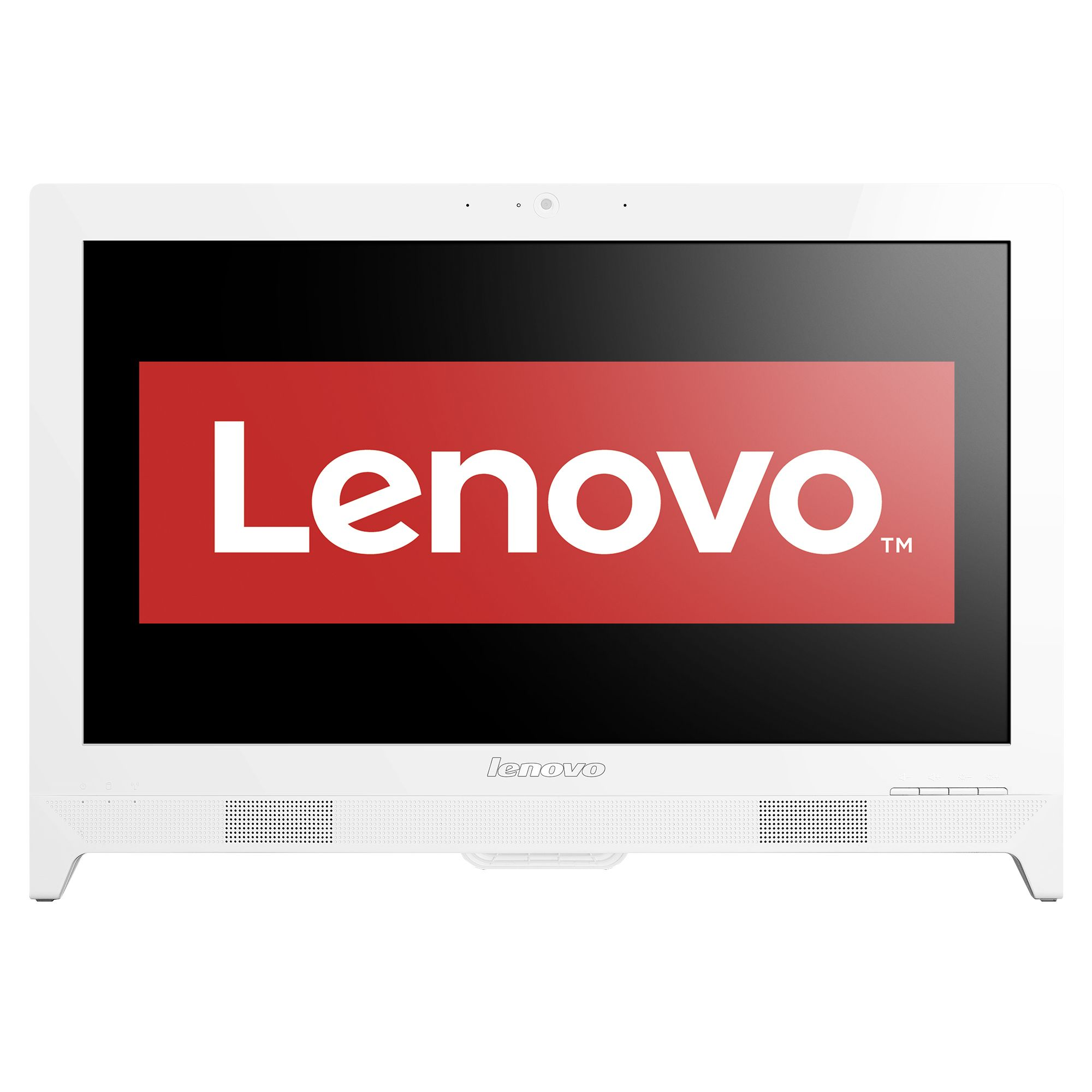 "Настолен компютър Lenovo C260 All-in-One c процесор Intel® Celeron® J1800 2.41GHz, 19.5"" HD+, 4GB, 500GB, DVD-RW, Intel® HD Graphics, Free DOS, Мишка + Клавиатура, Black"
